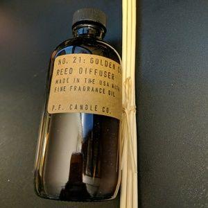 NIB P.F. Candle Co Reed Diffuser No21 Golden Coast